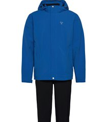 biscaya m set outerwear rainwear rain coats blå tenson