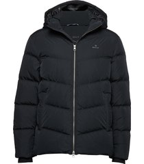 d1. the alta down jacket gevoerd jack zwart gant