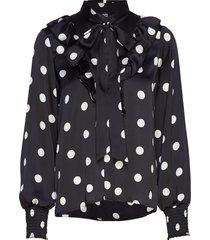 tekla blouse blouse lange mouwen zwart twist & tango