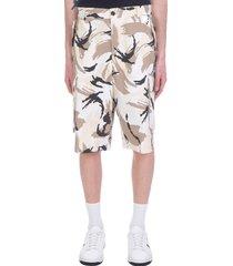 kenzo shorts in camouflage polyamide