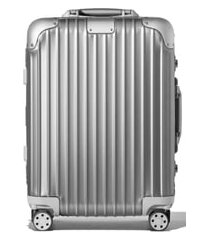 rimowa original cabin small 22-inch wheeled carry-on - metallic