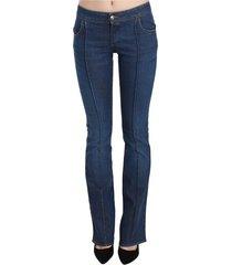 low waist boot cut denim pants jeans