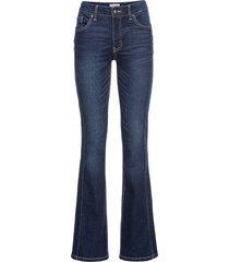jeans elasticizzato morbido bootcut (blu) - john baner jeanswear
