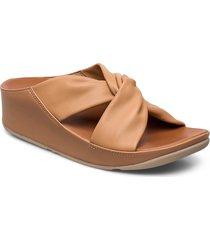 twiss slide shoes summer shoes flat sandals brun fitflop
