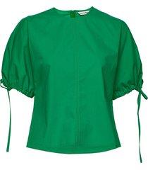 heltyä solid shirt blouses short-sleeved grön marimekko