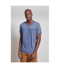 t-shirt 88mm indigo masculina
