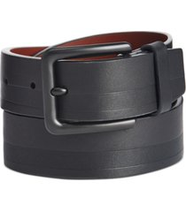 original penguin men's embossed casual belt