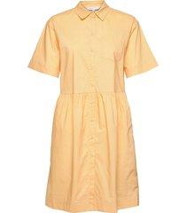 hatlapw dr knälång klänning orange part two