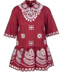 broderie anglaise peplum blouse