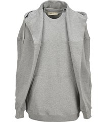 y/project batwing-sleeve drawstring hoodie