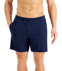 alfani men's quick-dry pajama shorts, created for macy's