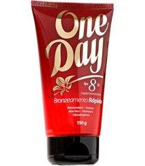 loção bronzeadora anasol - one day fps 8 150g