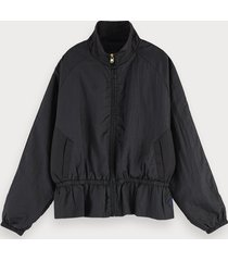 scotch & soda lichtgewicht nylon jack