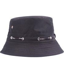 donne unisex estate pieghevole traspirante amanti pescatori cappelli casual viaggio cappello a benna lucida