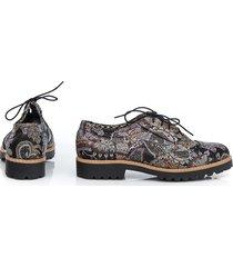 skórzane półbuty zapato 258 kolor boho