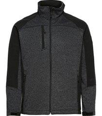 jorg mens softshell jkt sweat-shirts & hoodies fleeces & midlayers svart weather report