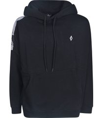 marcelo burlon county tape oversized hoodie