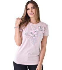 t-shirt xuss rj71260 rosado
