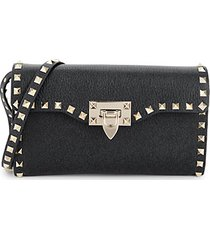 mini rockstud leather crossbody bag