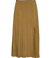 cornea skirt 10908 lång kjol grön samsøe samsøe