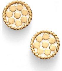 women's anna beck mini disc stud earrings