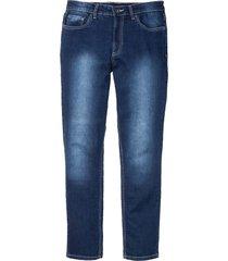 jeans elasticizzati slim fit straight (blu) - rainbow