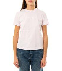 calvin klein t-shirt donna shrunken institutional tee j20j215322.tn9