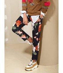 broek amy vermont zwart::multicolor
