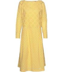 day casa jurk knielengte geel day birger et mikkelsen