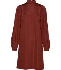 rodebjer ildi jurk knielengte rood rodebjer