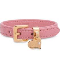 miu miu madras buckle bracelet - pink