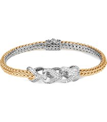 'asli classic chain' diamond reversible bracelet