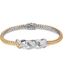 'asli classic chain' diamond reversible bracelet