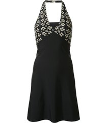 chanel pre-owned 2001 swimsuit dress - blue