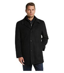 reserve collection traditional fit car coat- big & tall