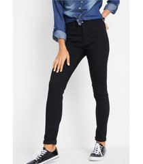 skinny thermojeans met high waist
