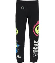 barrow joggers with logo embroidery
