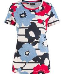 blommönstrad t-shirt