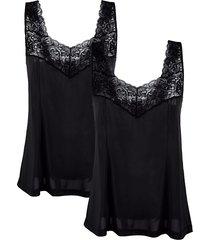 korta underklänningar südtrikot svart