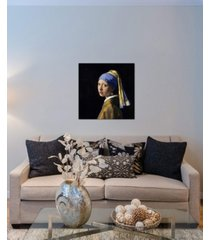 "icanvas ""girl with a pearl earring"" by johannes vermeer gallery-wrapped canvas print"