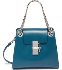 'annie' mini leather shoulder bag