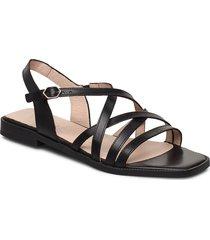 a-1401 shoes summer shoes flat sandals svart wonders