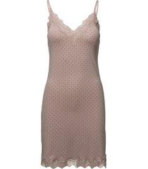 strap dress korte jurk roze rosemunde