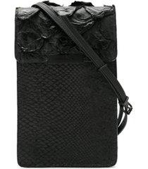 osklen bolsa tiracolo jupeba - preto