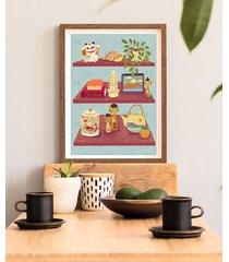 japońska półka - plakat 50x70 cm