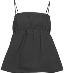 anotea t-shirts & tops sleeveless svart by malene birger