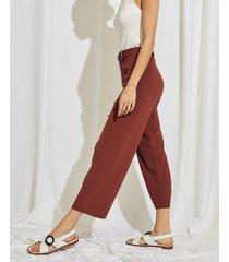 pantalón marrón portsaid