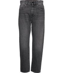 trousers rechte jeans grijs replay