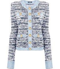 denim tweed jacket