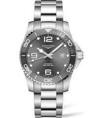 women's longines hydroconquest automatic bracelet watch, 41mm